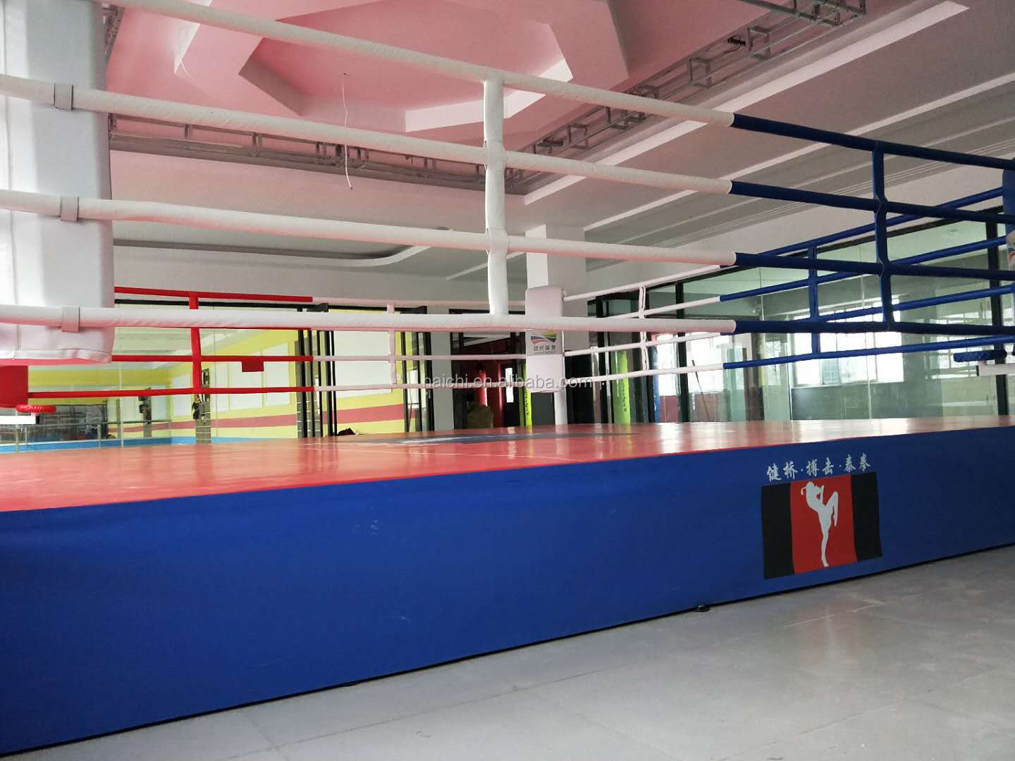 0.5m Height Stand Strong Boxing Ring  6mX6m For Sale