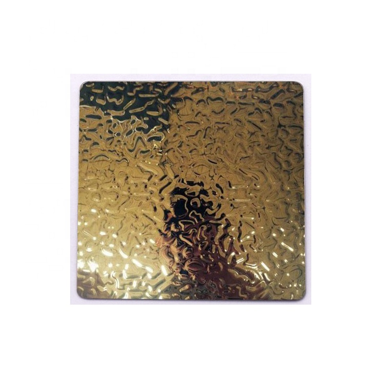 201 304 316 Decorative Embossing Metal Plate Embossed Stainless Steel Sheet