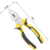 6 Inch Combination Pliers with TPR Handle Heavy Duty for Linesman