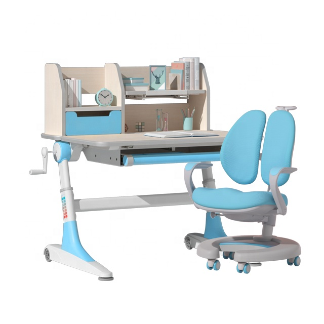 IGROW study table and chair set for children table desk with chair children
