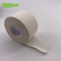 3.8cm*13.7m Sports Activity Finger Protect Athletic Cotton Tape