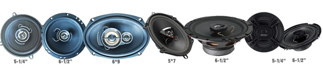 OEM メーカーカスタムブランドロゴ電源 60 ワット 120 ワットミッドレンジ車のスピーカー 6.5 4 オームミッドレンジ自動スピーカー無料サンプルと