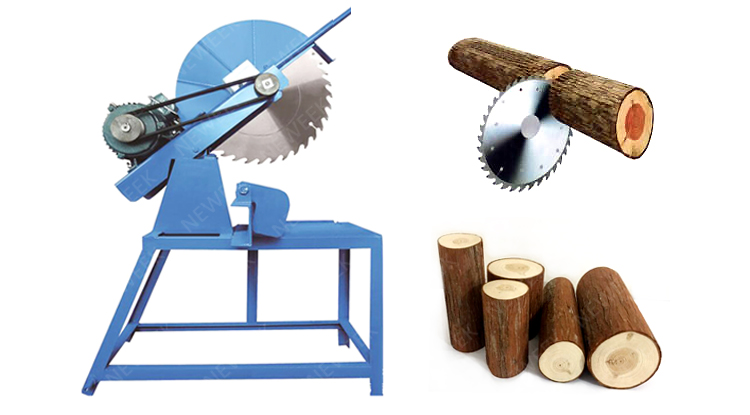 NEWEEK maximum 250 mm diameter circular cut-off  wood saw machine electric wood cutter