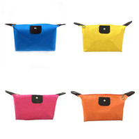 J225 Hot-sale Fashionable Dumplings Package Cosmetic Small Custom Storage Colorful Travel Makeup Bag