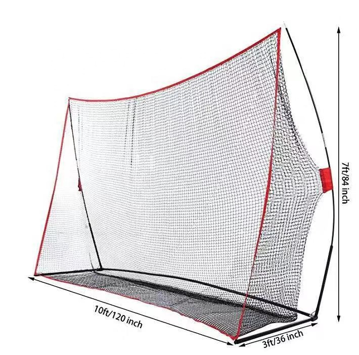 Drop shipping from china 10x7 ft Portable Golf Driving Net Hitting Net For Indoor and Outdoor
