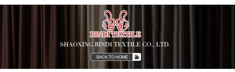 BINDI In stock Hot sale Energy save short Matt sitting room curtain darkening blackout curtains for living room