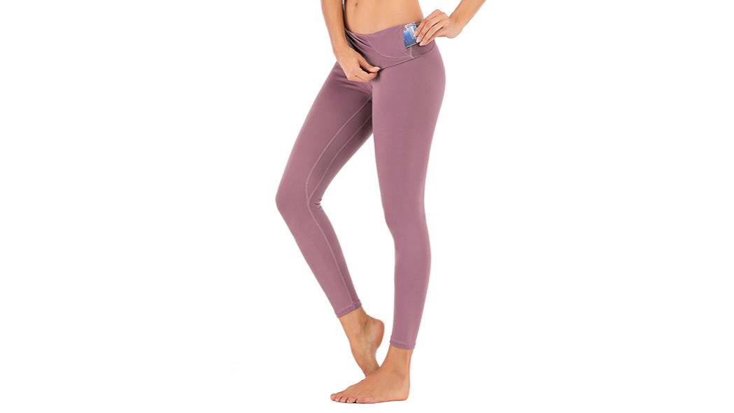 2020 Pergelangan Kaki Panjang Nilon Telanjang Merasa Berpinggang Tinggi Latihan Legging Untuk Wanita Yoga Celana Buy Gym Ketat Wanita Celana Kompresi Legging Saku Wanita Yoga Celana Celana Atletik Anti Selulit Kompresi