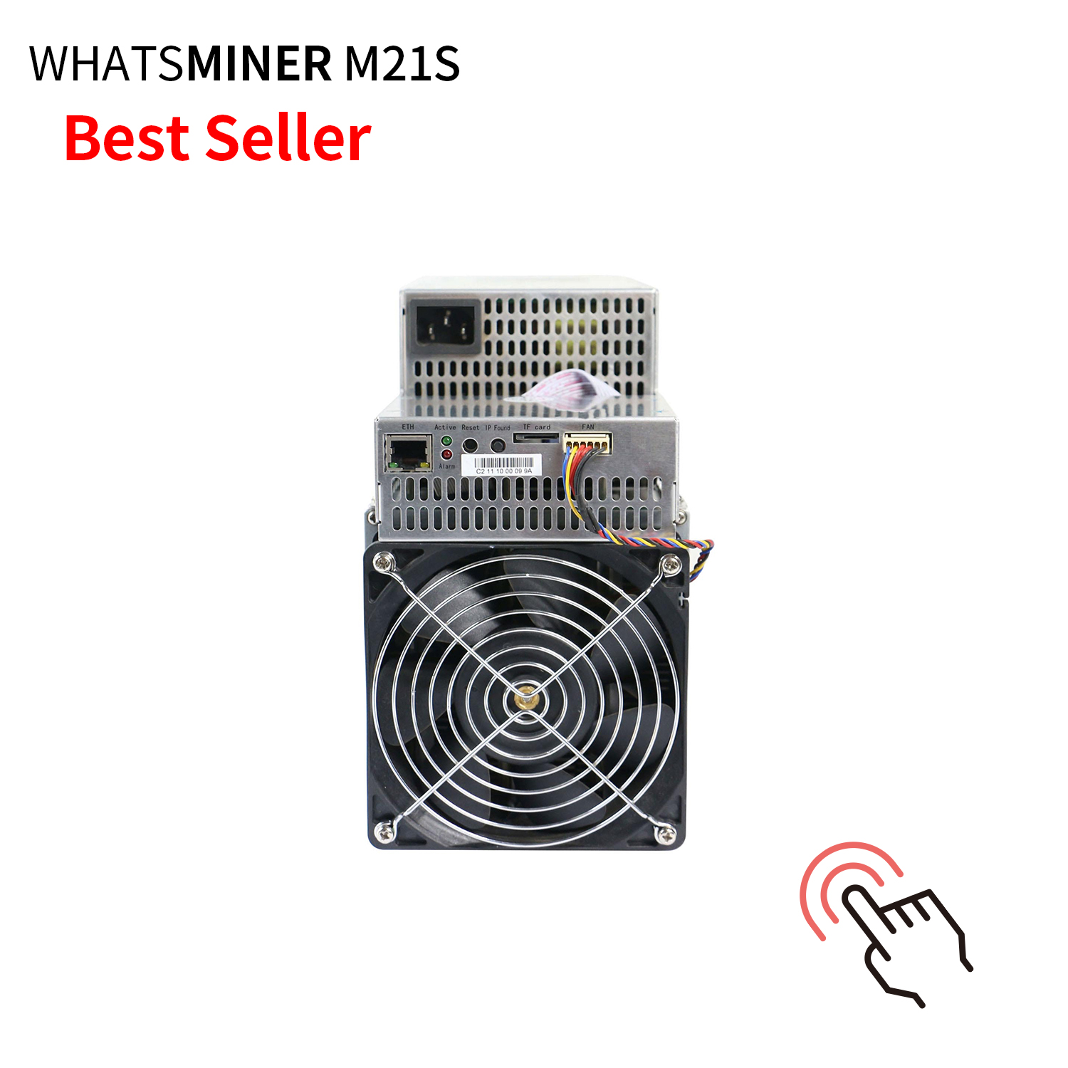 Cheapest Whatsminer M21S 56Th/s 3360W SHA256  ASIC Bitcoin Miner with power for pool miners