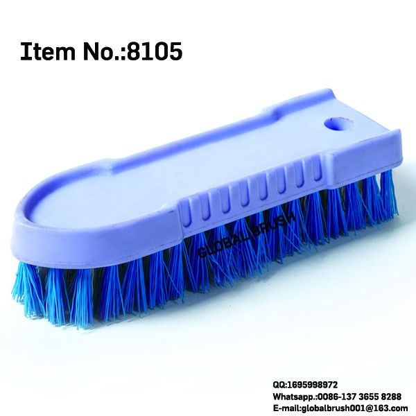 HQ8105 wooden brush factory PP plastic clothes wash brush