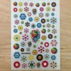 2020-new !3 Styles wholesale sunflower nail sticker decoration 1pcs /sheet + * M19-Y08T smiley rainbow sun flower stickers nail