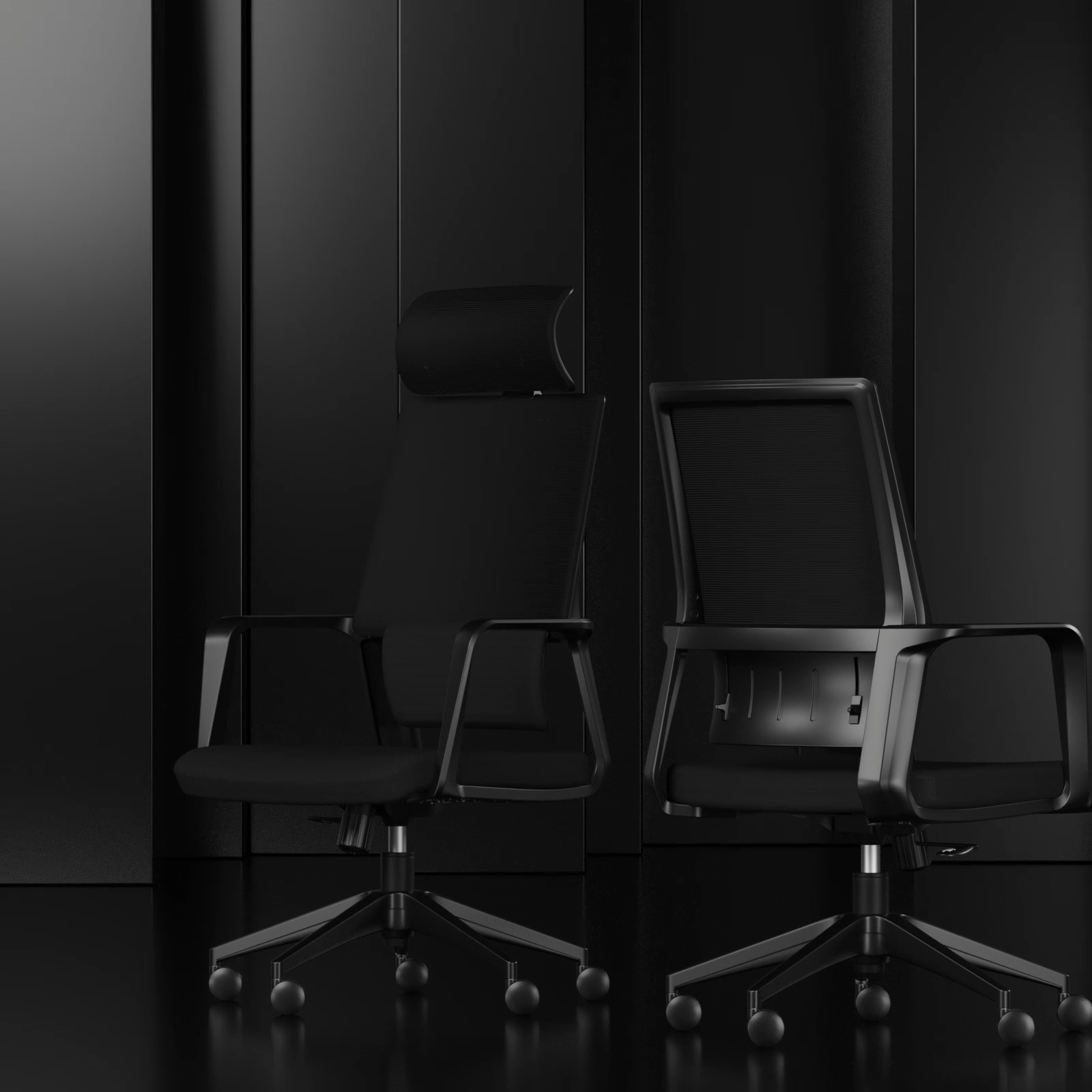 Johoofurniture Perabotan Komersial Harga Kursi Kantor Ergonomis Kursi Kantor dengan Roda