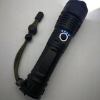 Led Torch Ledled P50 1000Lumen Zoomable Aluminum LED Torch COB High Power Tactical Flashlight