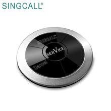 SINGCALL Used In Restaurant Coffee Shop Hotel  2key Button Transmitter Guest Calling Pager