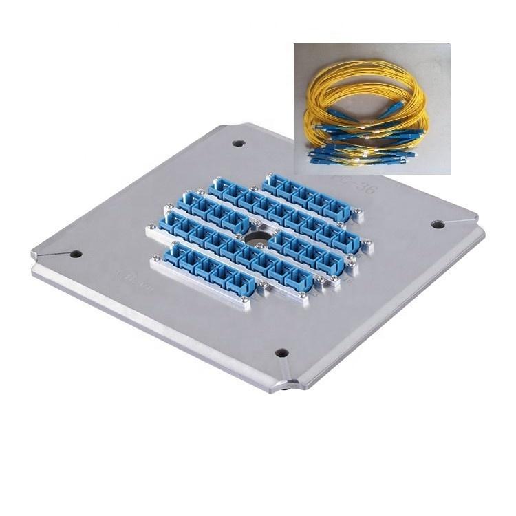光ファイバ 36 コネクタ SC UPC 研磨器具光ファイバ研磨ジグ光学研磨プレート