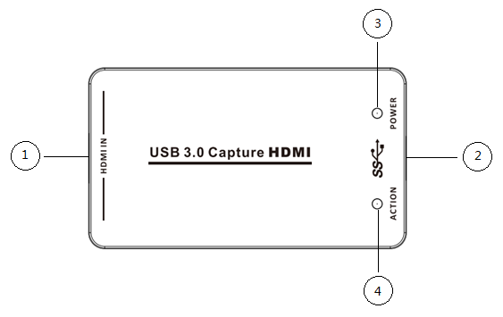 USB 3.0 HDMI Game Capture Karte Volle HD 1080p 60FPS Video Zu Live-Streaming