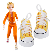 Canvas Baby <span class=keywords><strong>Pop</strong></span> Shoes18 Inch <span class=keywords><strong>Mode</strong></span> Amerikaanse Meisjes Bjd Ball Jointed Doll <span class=keywords><strong>Schoenen</strong></span>