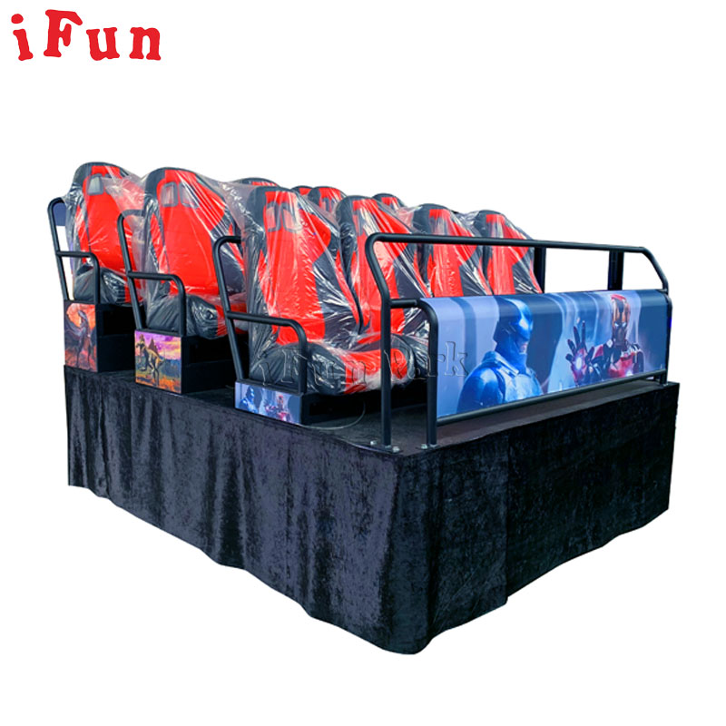 Toptan interaktif 7D sinema atıcılık dinamik sinema 9 koltuk elektrik sistemi 5D sinema çocuklar ve yetişkinler için