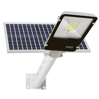 Fast delivery remote control outdoor waterproof led solar garden street lighting systems