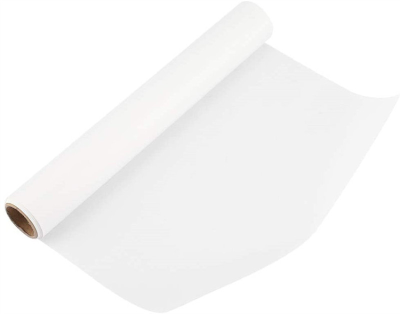 White parchment baking liner cupcake siliconized baking paper roll