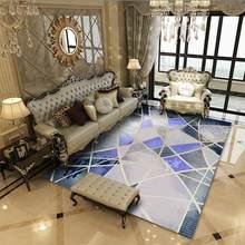Моющийся ковер в богемном стиле для гостиной, современный коврик с геометрическим принтом для спальни коврик для гостиной(Китай)