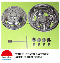 Huiying rad center hub caps lkw rad abdeckung 16 zoll verwendet für <span class=keywords><strong>Ford</strong></span>/GM/Chevy/bus