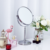 Good quality factory stand 3X magnifying vanity table desktop bathroom makeup mirror with LED lights