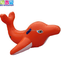 Guangzhou Cheap Price High Quality Kids Inflatable Bouncy Animal Dolphin Toys