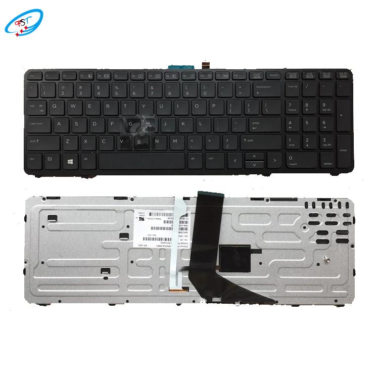 الجملة الجديدة لوحة مفاتيح الكمبيوتر المحمول الإنجليزية ل HP كومباك ZBook 15 17 G1 G2 17 G1 G2 لوحة مفاتيح الكمبيوتر المحمول الأسود