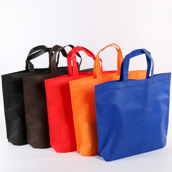 Customized shopping tote ultrasonic Non Woven Bag with RPET or PLA