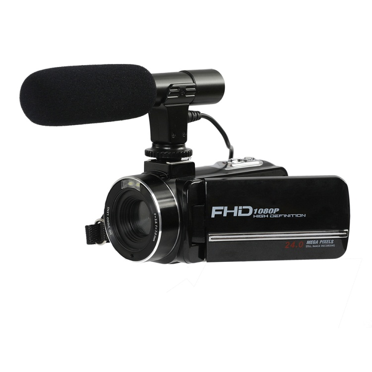 3.0 Inci 24MP CMOS 16x Zoom Vlog Camera Full HD 1080P Camara Kertas Foto Profesional Digital