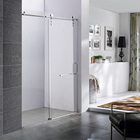 Hotel Luxury Room Door Hotel Hotel Sliding Glass Doors Hotel Luxury Simple Bathroom Tempered Glass Shower Room Sliding Door