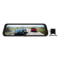 "9.66"" Touch Screen 1080P Car DVR Dash camera Dual Lens Auto Camera Video Recorder Rearview mirror"