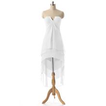 Сексуальное шифоновое короткое милое платье для выпускного вечера на шнуровке, женское Клубное коктейльное платье для выпускного вечера, г...(Китай)