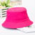 Solid color fishing bucket hat wholesale fisherman bucket hat