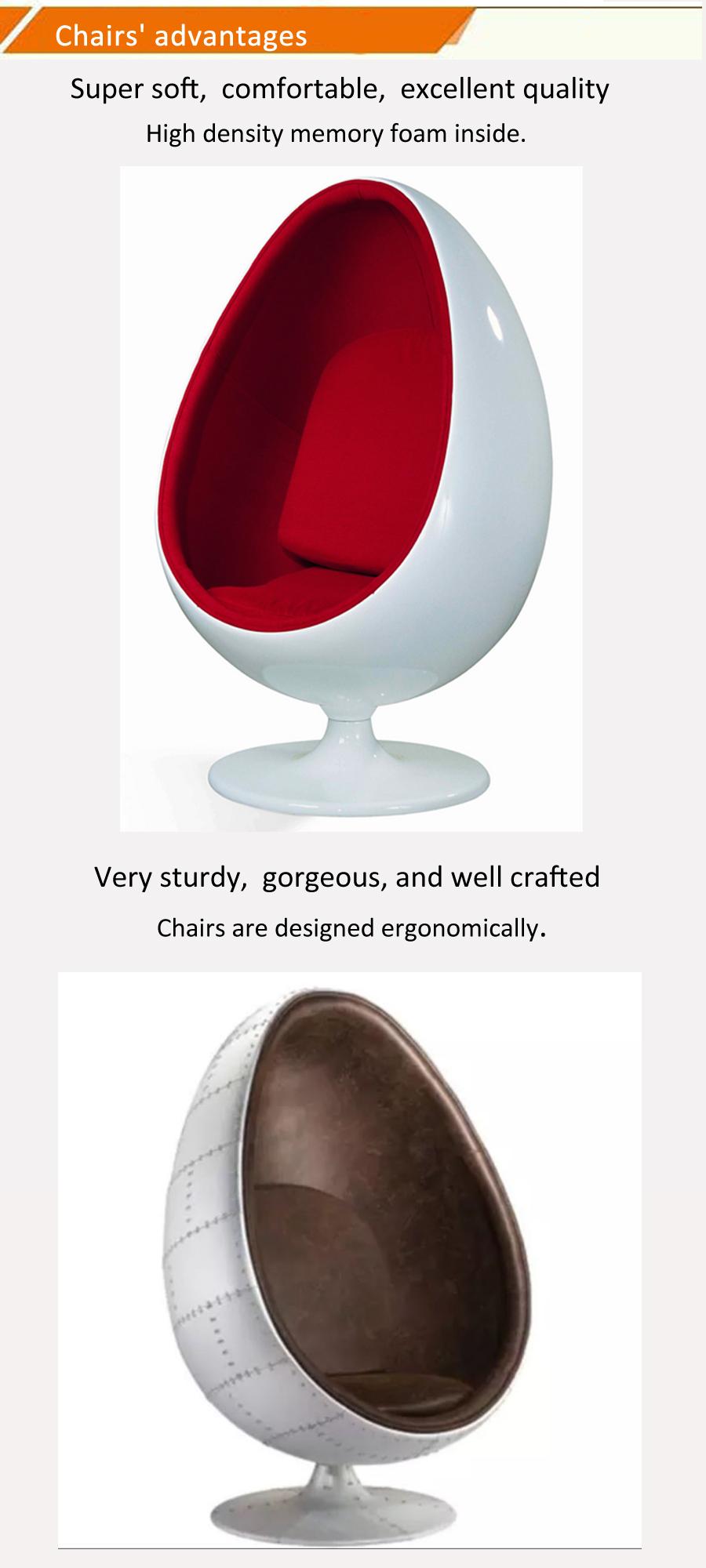 Lee west stereo pod Alpha shell buy modern furniture swivel leisure lounge fiberglass speaker chair with ottoman