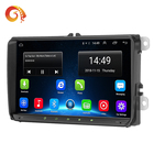 "Universal car accessories FCC CE car dvd 2din Android 9"" inch car GPS video smart media player for VW"