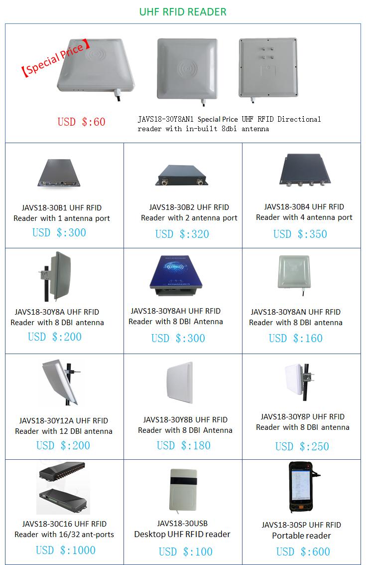 UHF RFID Product of Javs Classification