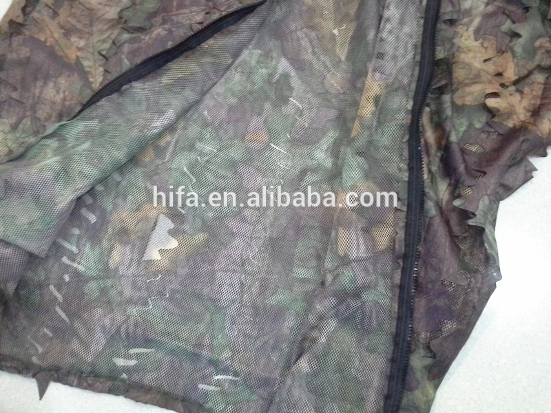outdoors military camouflage suit forest sniper 3D leaf Camouflage Sniper ghillie suit clothing for hunting