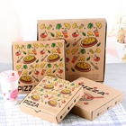 Food grade custom printed pizza packing box