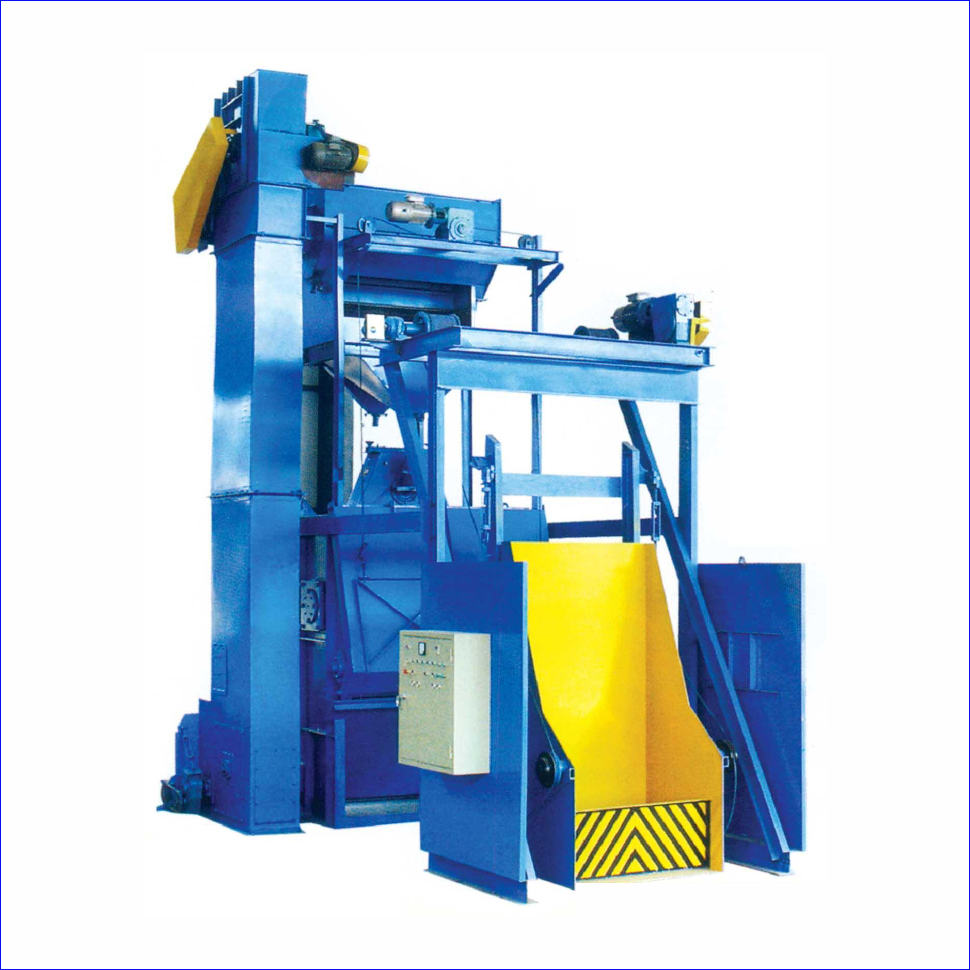 Tracked type shot blasting clean machine