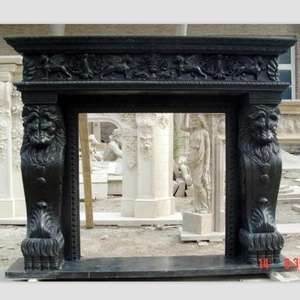 Mantle Fireplace/Lion Head Fireplace Mantel/Fireplaces For Sale