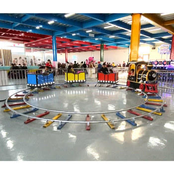Amusement Children Park Carnival Game Indoor Kiddie Small Electric Mini Battery Operated Track Kids Train Ride On Train For Sale
