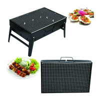 BBQ Barbecue Grill Portable Folding Charcoal Barbecue Oven for Camping Barbecue