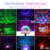 RK-D03 DJ atmosphere light sound controller colorful flashing led lamp with 360 degree rotation tube