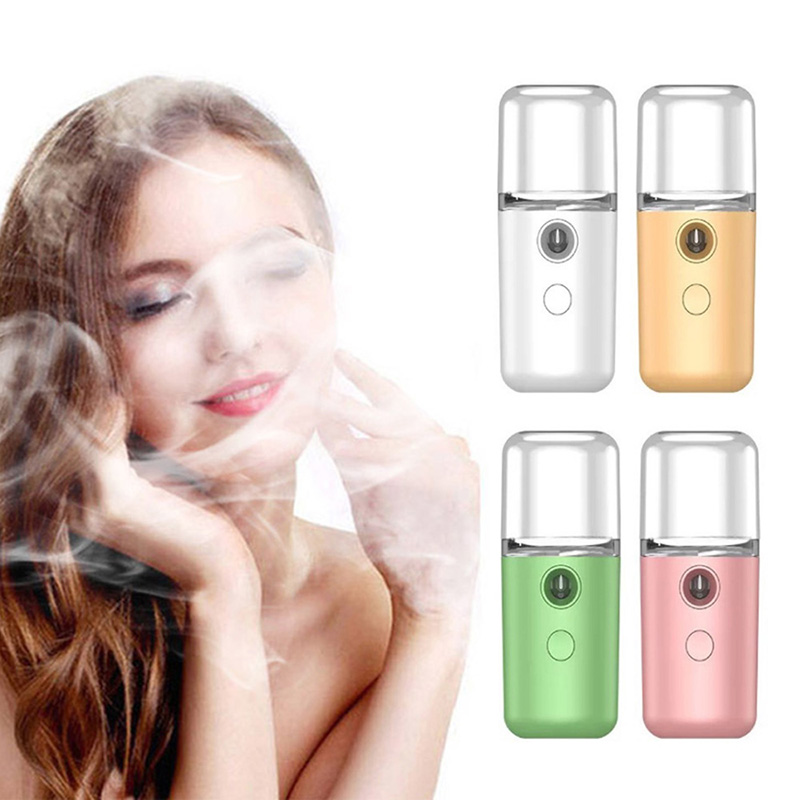 Mini Portable Beauty Skin Care Spray Electric Water Facial Handy Nano Mist Sprayer
