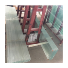 China high transparency 10mm low iron ultra clear tempered glass