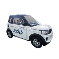 DOT EEC certificated L7e 4 seaters electric new cars with speed of 60km ternary lithium battery left and right hand driving