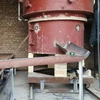 Industrial heating melting furnace