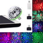 Magic Colorful home party Night disco club lighting Stage Romantic dj Ball lights mini usb party led disco lights