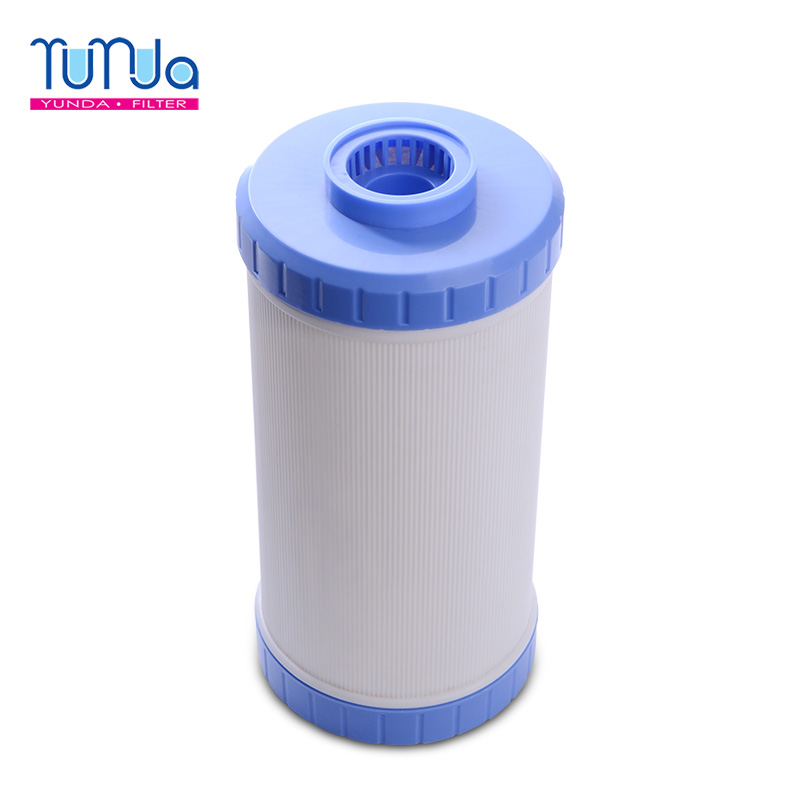 Grote blauwe activated carbon filter gac udf waterfilterpatroon ro filter voor hele huis